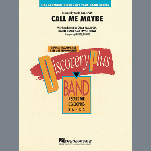 Michael Brown Call Me Maybe - Conductor Score (Full Score) pictures