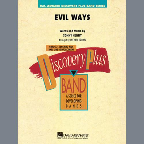 Michael Brown Evil Ways - Full Score profile picture