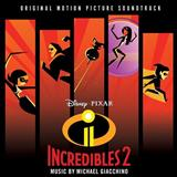 Download or print Diggin' The New Digs (from The Incredibles 2) Sheet Music Notes by Michael Giacchino for Piano