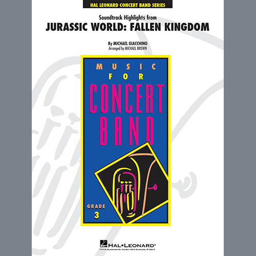Michael Giacchino Highlights from Jurassic World: Fallen Kingdom (arr. Michael Brown) - Conductor Score (Full Score) profile picture
