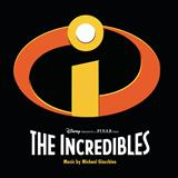 Download or print The Glory Days (from The Incredibles) Sheet Music Notes by Michael Giacchino for Piano