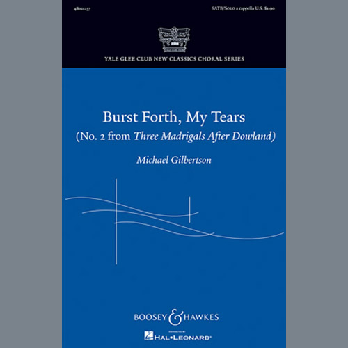 Michael Gilbertson Burst Forth, My Tears pictures