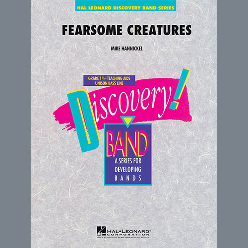 Michael Hannickel Fearsome Creatures - Percussion 1 pictures