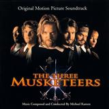Download or print The Three Musketeers (D'Artagnan (Galliard & Air)) Sheet Music Notes by Michael Kamen for Piano