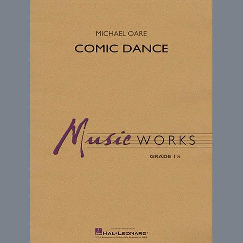 Michael Oare Comic Dance - Bb Clarinet 2 profile picture