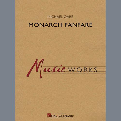 Michael Oare Monarch Fanfare - Bb Clarinet 1 profile picture