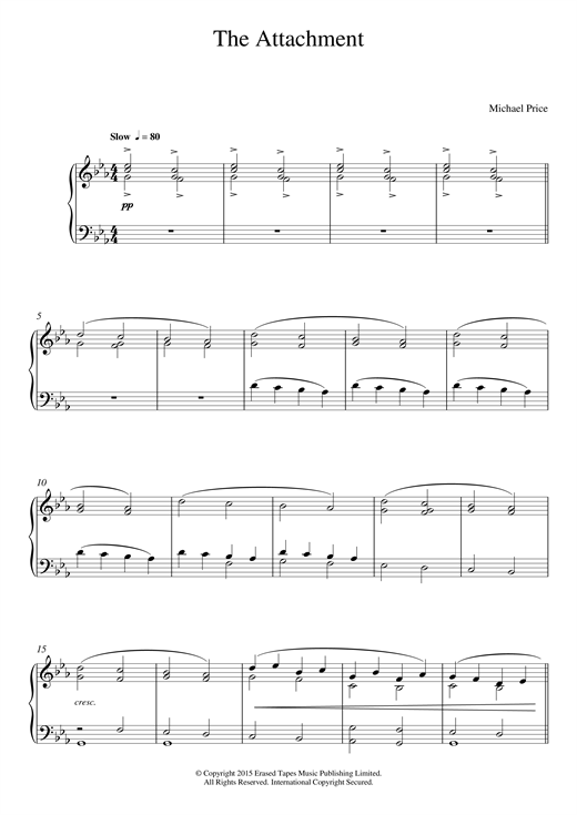 Download Michael Price 'The Attachment' Digital Sheet Music Notes & Chords and start playing in minutes