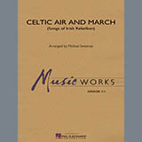 Download Michael Sweeney Celtic Air and March (Songs of Irish Rebellion) - Timpani Sheet Music arranged for Concert Band - printable PDF music score including 1 page(s)