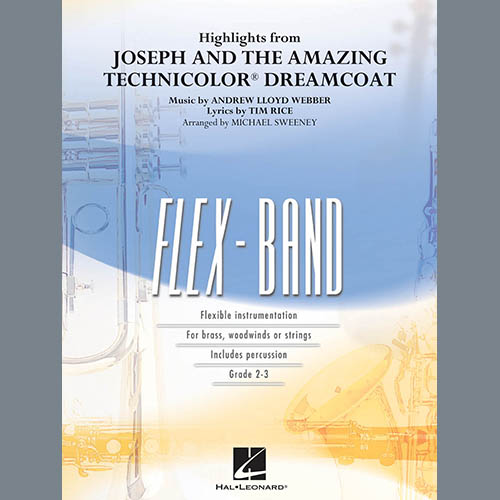 Michael Sweeney Highlights from Joseph and the Amazing Technicolor Dreamcoat - Pt.5 - Eb Baritone Saxophone profile picture