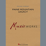 Download or print Paine Mountain Legacy - Bb Tenor Saxophone Sheet Music Notes by Michael Sweeney for Concert Band