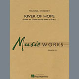 Download Michael Sweeney River of Hope - Bb Bass Clarinet Sheet Music arranged for Concert Band - printable PDF music score including 2 page(s)