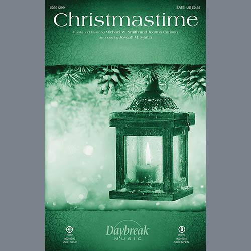 Michael W. Smith & Joanna Carlson Christmastime (arr. Joseph M. Martin) - Handbells profile picture