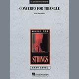 Download or print Concerto For Triangle - Violin 1 Sheet Music Notes by Mike Hannickel for Orchestra