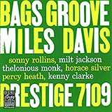Download Miles Davis Bags' Groove (Take 2) Sheet Music arranged for Electric Guitar Transcription - printable PDF music score including 6 page(s)