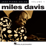 Download or print Solar Sheet Music Notes by Miles Davis for Piano