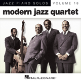 Download or print Vendome Sheet Music Notes by Modern Jazz Quartet for Piano