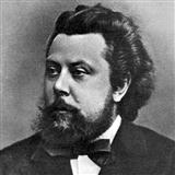 Download or print Promenade (from Pictures At An Exhibition) Sheet Music Notes by Modest Mussorgsky for Piano