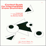 Download Murray Houllif Contest Duets For The Intermediate Snare Drummers Sheet Music arranged for Percussion Ensemble - printable PDF music score including 21 page(s)