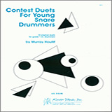 Download Murray Houllif Contest Duets For Young Snare Drummers Sheet Music arranged for Percussion Ensemble - printable PDF music score including 23 page(s)