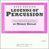 Download Murray Houllif Legends Of Percussion, Duet Edition Sheet Music arranged for Percussion Ensemble - printable PDF music score including 14 page(s)