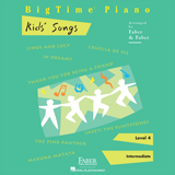 Download Nancy and Randall Faber Linus and Lucy Sheet Music arranged for Piano Adventures - printable PDF music score including 2 page(s)