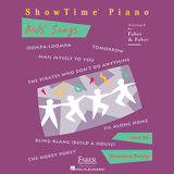 Download Nancy and Randall Faber Tomorrow Sheet Music arranged for Piano Adventures - printable PDF music score including 3 page(s)