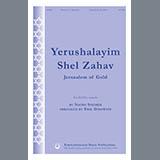 Download Naomi Shemer Y'rushalayim Shel Zahav (Jerusalem Of Gold) (arr. Eric Dinowitz) Sheet Music arranged for SSATB Choir - printable PDF music score including 19 page(s)