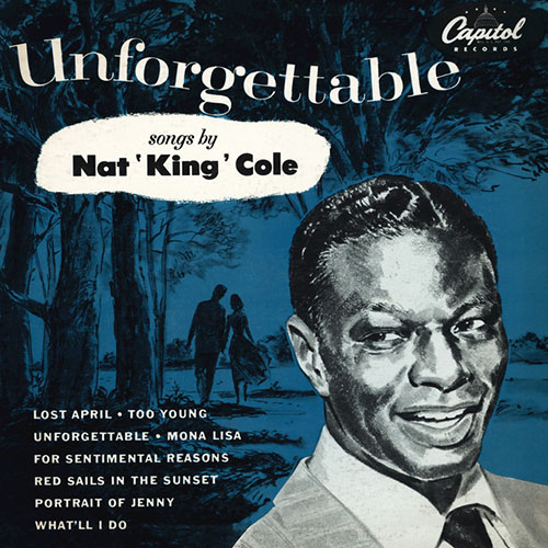 Nat King Cole Mona Lisa pictures