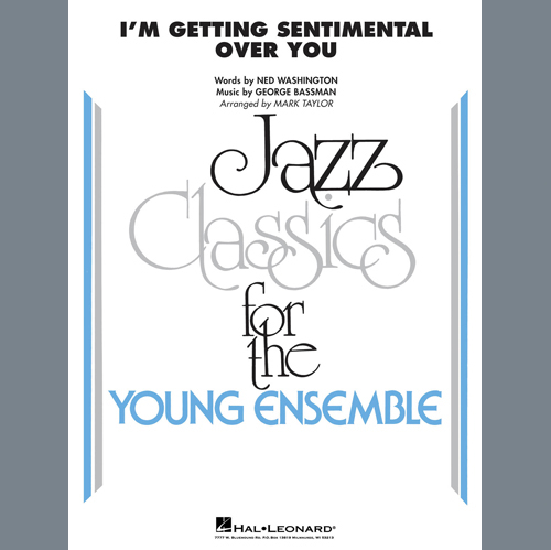 Ned Washington I'm Getting Sentimental Over You (arr. Mark Taylor) - Drums profile picture