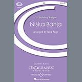 Download Nick Page Niska Banja Sheet Music arranged for SAAB - printable PDF music score including 7 page(s)