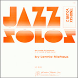 Download Niehaus Jazz Solos For Tenor Sax, Volume 2 Sheet Music arranged for Woodwind Solo - printable PDF music score including 12 page(s)