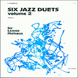 Download Niehaus Six Jazz Duets, Volume 2 Sheet Music arranged for Brass Ensemble - printable PDF music score including 20 page(s)