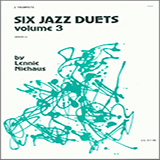 Download Niehaus Six Jazz Duets, Volume 3 Sheet Music arranged for Brass Ensemble - printable PDF music score including 24 page(s)