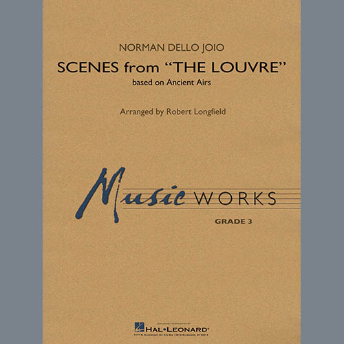 Norman Dello Joio Scenes from the Louvre (arr. Robert Longfield) - Bb Clarinet 2 profile picture