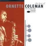 Download or print Blues Connotation Sheet Music Notes by Ornette Coleman for Piano