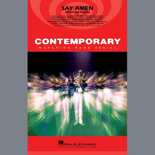 Panic! At The Disco Say Amen (Saturday Night) (arr. Matt Conaway) - Eb Baritone Sax profile picture