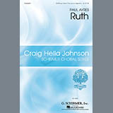 Download Paul Ayres Ruth Sheet Music arranged for SSATB Choir - printable PDF music score including 15 page(s)