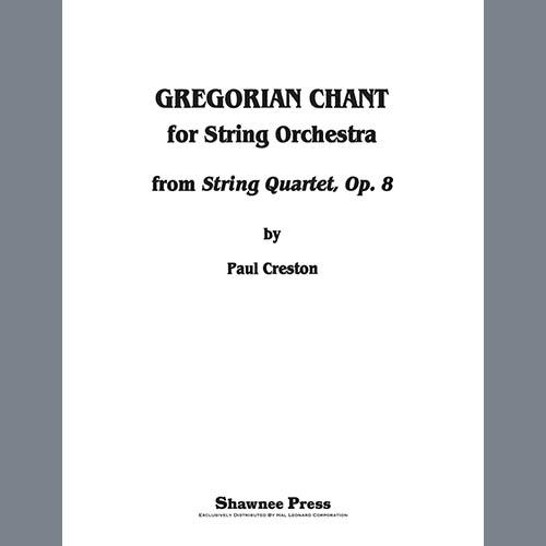 Paul Creston Gregorian Chant for String Orchestra - Violin 2 profile picture