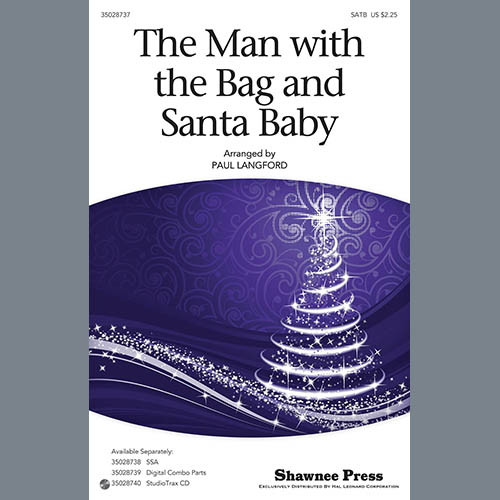 Paul Langford Man With The Bag And Santa Baby - Bb Tenor Saxophone pictures