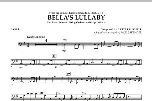 Paul Lavender Bella's Lullaby (from