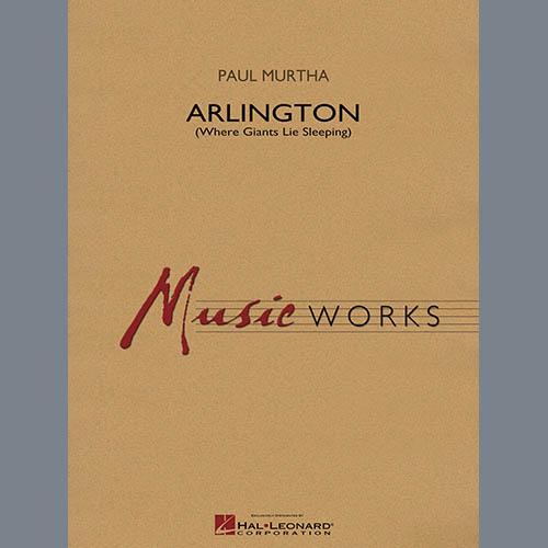 Paul Murtha Arlington (Where Giants Lie Sleeping) - Eb Baritone Saxophone pictures