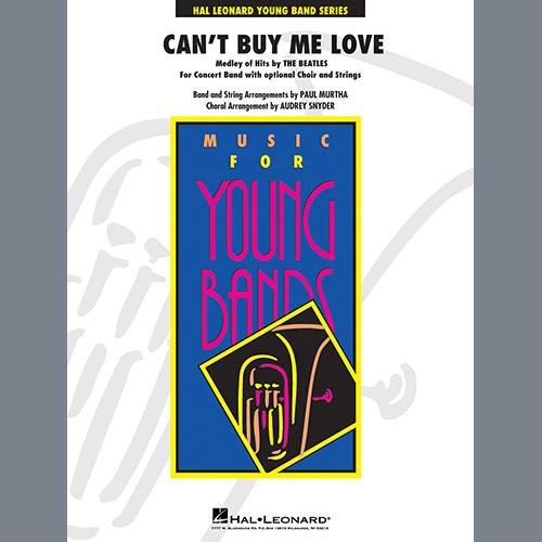 Paul Murtha Can't Buy Me Love - Conductor Score (Full Score) profile picture