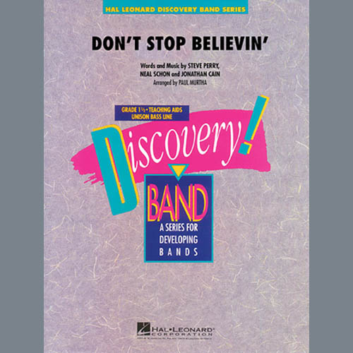 Paul Murtha Don't Stop Believin' - Bb Bass Clarinet profile picture
