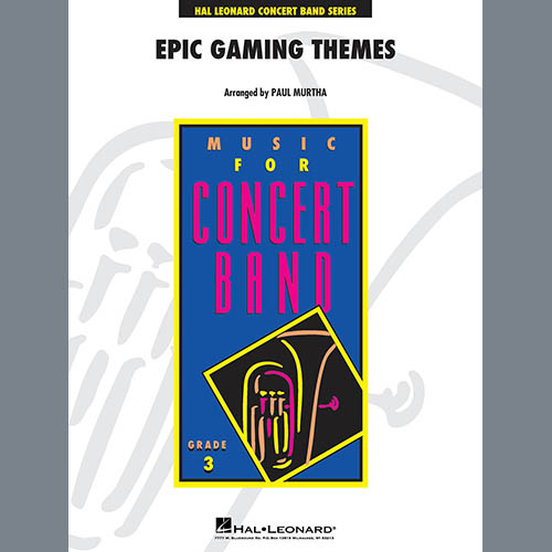 Paul Murtha Epic Gaming Themes - Conductor Score (Full Score) profile picture
