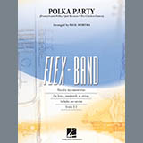 Download Paul Murtha Polka Party - Pt.3 - Bb Tenor Saxophone Sheet Music arranged for Concert Band - printable PDF music score including 2 page(s)