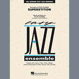 Download Paul Murtha Superstition - Baritone Sax Sheet Music arranged for Jazz Ensemble - printable PDF music score including 2 page(s)