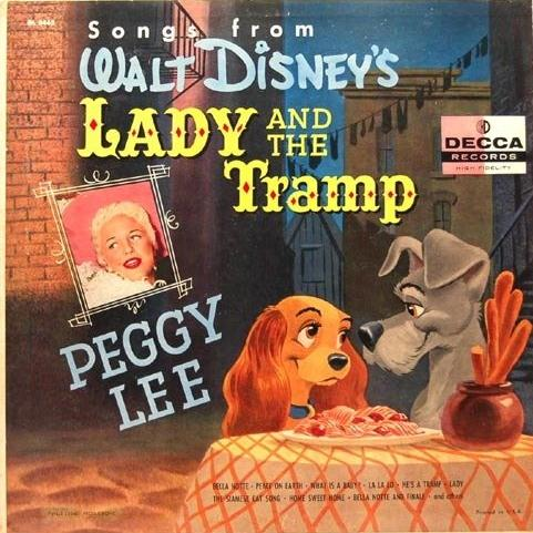 Peggy Lee He's A Tramp (from Lady and the Tramp) pictures