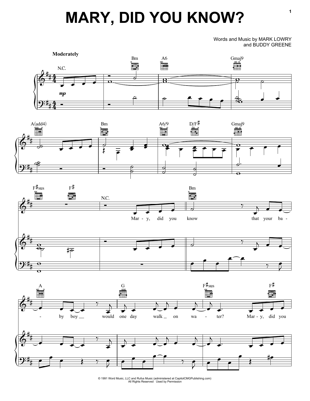 Pentatonix Mary Did You Know Sheet Music Download Printable Pdf Music Notes Score Chords 173969