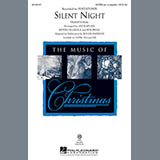 Download Pentatonix Silent Night (arr. Roger Emerson) Sheet Music arranged for Choral SATBB - printable PDF music score including 10 page(s)