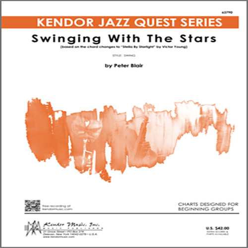 Peter Blair Swinging With The Stars (based on Stella By Starlight by Victor Young) - 2nd Bb Tenor Saxophone profile picture